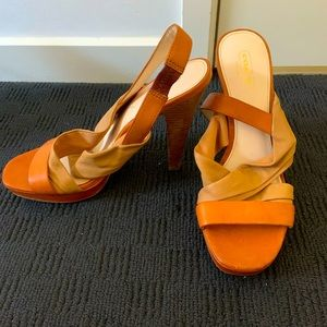 """Coach """"Astor"""" Heels - Size 8 - Barely worn and best fit for slim feet"""